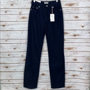 Zara NWT Heritage Straight Slim High Rise Jeans 2